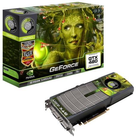 Модификация GeForce GTX 480 имени Point of View