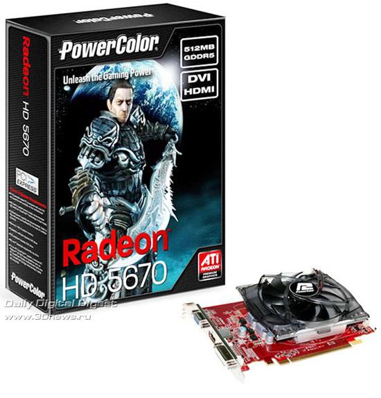 PowerColor Radeon HD 5670 512MB GDDR5 V2
