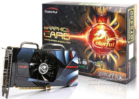 Colorful GeForce GTS 450