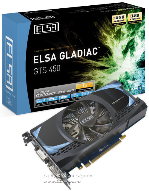 ELSA GLADIAC GTS 450
