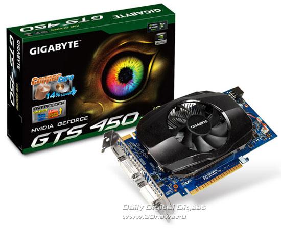 GIGABYTE GV-N450-1GI
