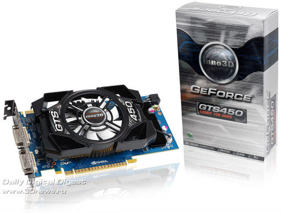 Inno3D GeForce GTS 450