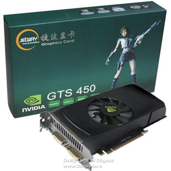 Jetway GeForce GTS 450