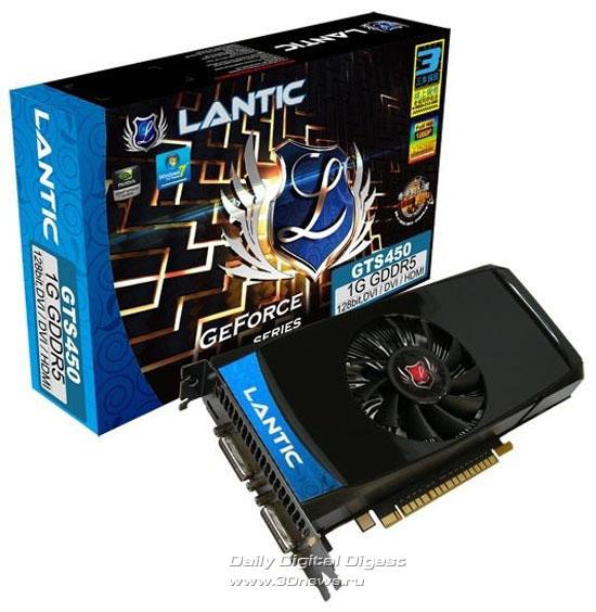LANTIC GeForce GTS 450