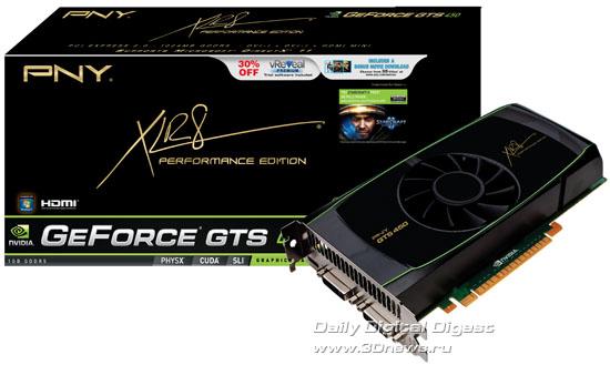PNY GeForce GTS 450