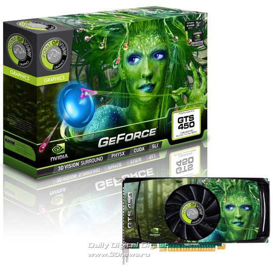 Point of View GeForce GTS 450