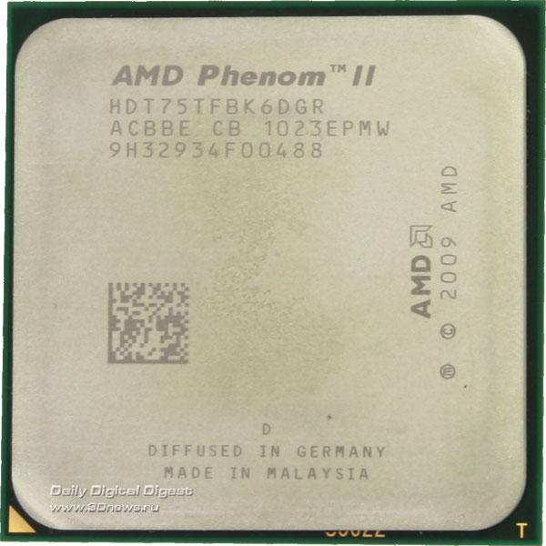 Два новых процессора AMD: четырехъядерный чемпион и шестиядерный «середнячо ...