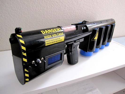 Речь пойдет о настоящей пушке Гаусса, принцип работы которой основан на использовании электромагнитных...