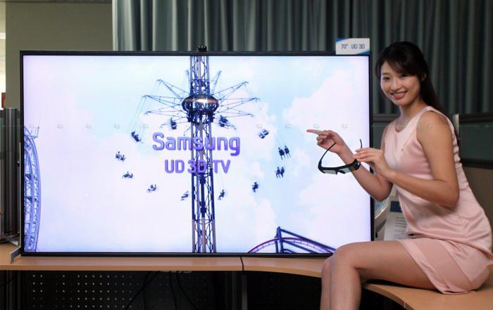 "70"" стереотелевизор Samsung"