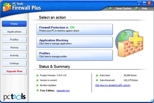 PC Tools™ Firewall Plus