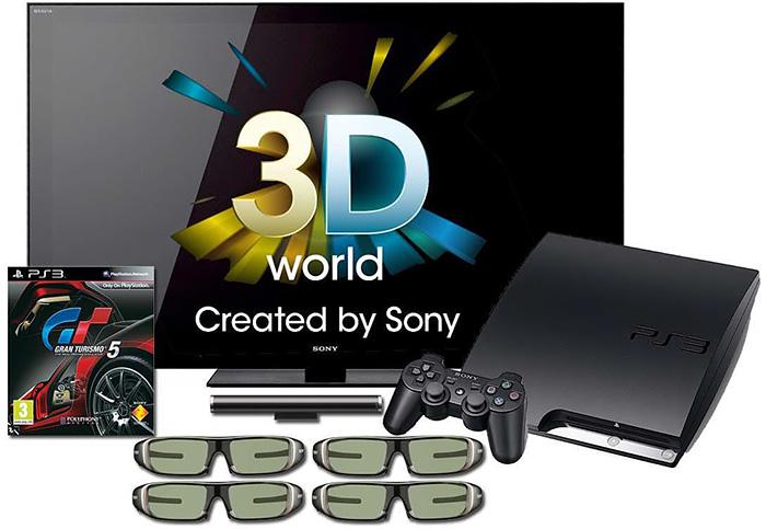 Sony продвигает 3D