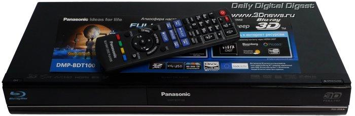 Blu-Ray 3D плеер Panasonic DMP-BDT100