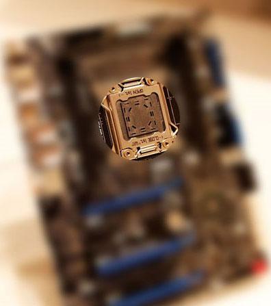 Материнская плата Intel LGA2011 предстала перед объективом