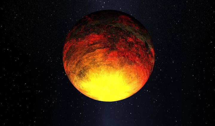 Kepler-10b глазами художника