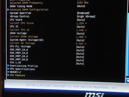 MSI P67A-GD65 настройки разгона 4