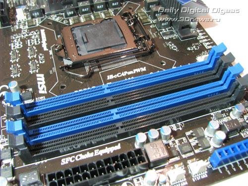 MSI P67A-GD65 DIMMs