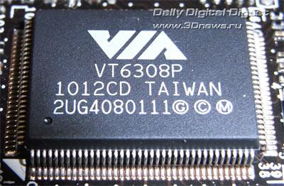 MSI P67A-GD65 контроллер FireWire