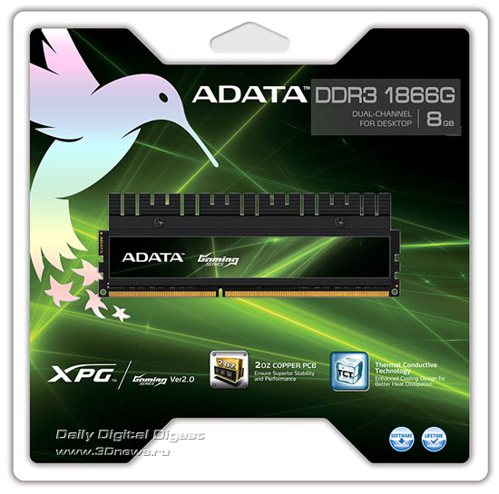 ADATA XPG Gaming Series V2.0 DDR3-1866G
