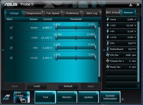 ASUS P8P67-M Pro AI Suite 2