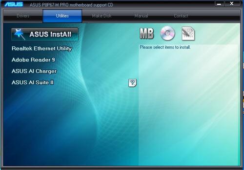 ASUS P8P67-M Pro комплектация 1