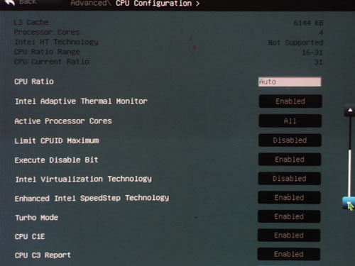 ASUS P8P67-M Pro CPU 1