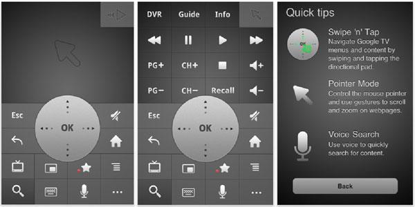 Применение Android-смартфонов в качестве пультов дистанционного управления для телевизоров с поддержкой Google TV...
