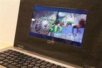 Высококачественный  автостереоскопический экран для портативных устройств от IEE