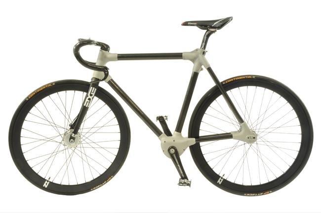 Ещё один технологичный велосипед Alpha-bike