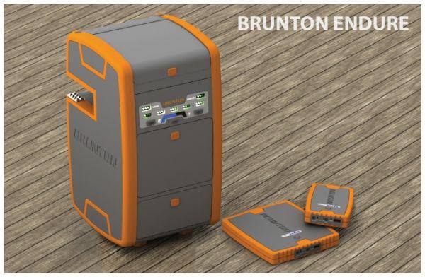 Brunton Endure зарядит ваш телефон без розетки.