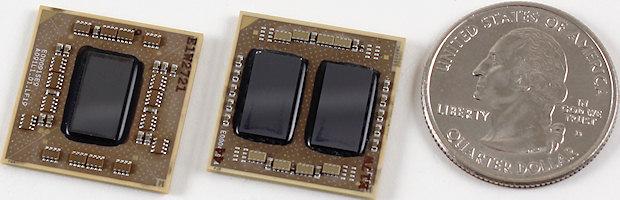 Nano X2 (слева) и QuadCore (посредине)