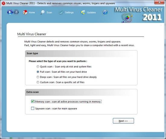 Multi Virus Cleaner 2011 11.5.2: выявление вирусов в корпоративной сети