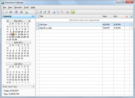 Как сделать расписание на рабочем столе