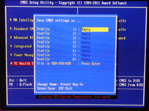 Gigabyte X58A-OC Profiles