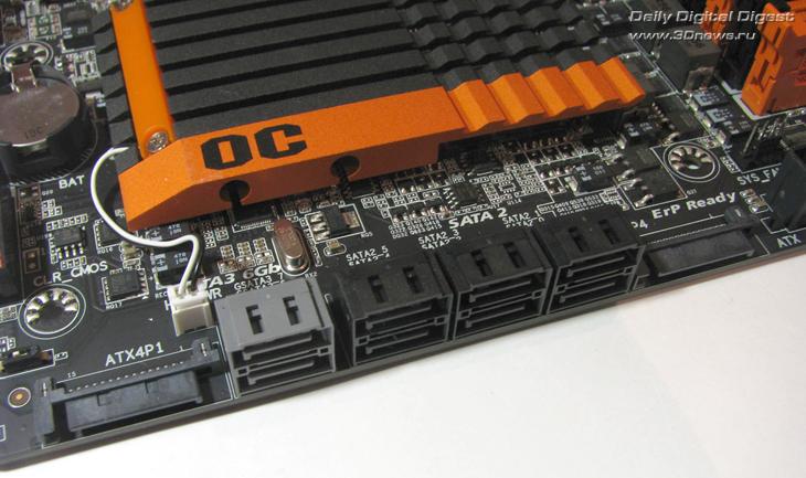 Gigabyte X58A-OC разъем питания 2