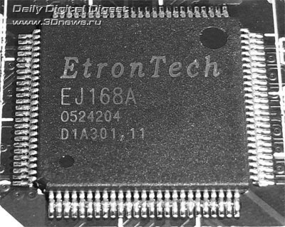 Gigabyte X58A-OC контроллер USB3.0