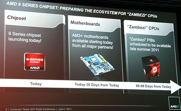 Задержка AMD Bulldozer
