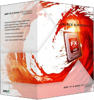 Коробка AMD Bulldozer