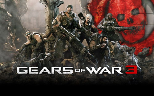 Gears of War 3 (2011, трейлер, HD / SD]