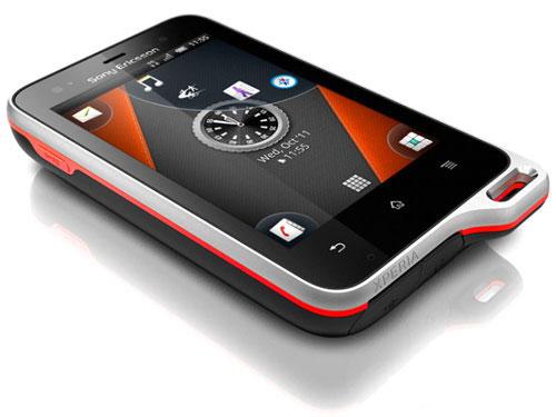 компания Sony Ericsson официально представила смартфон Xperia active