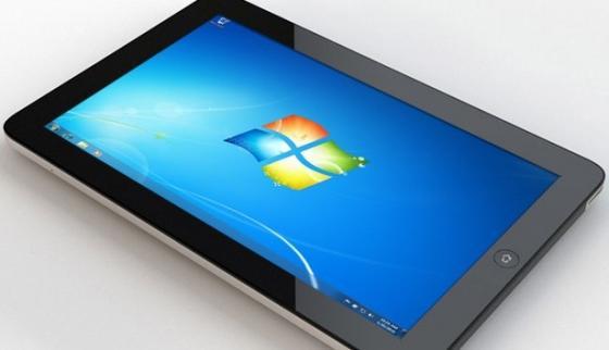 Планшет на базе Windows 7