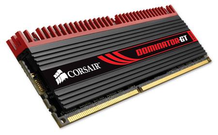 Память Corsair Dominator GT DDR3-2133 (8 Гбайт) функционирует при  1,5 В