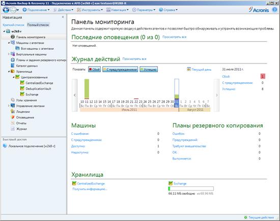 Вышел Acronis Backup & Recovery 11 на русском языке