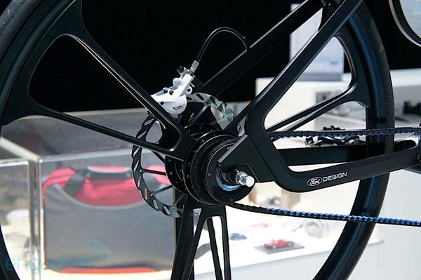 Заднее колесо Ford E-Bike