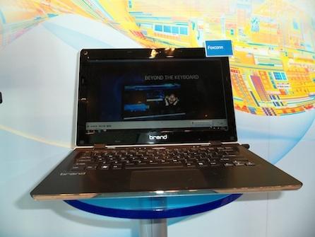 Ультрабук в исполнении Foxconn на базе Ivy Bridge