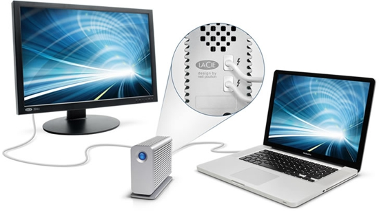 LaCie Little Big Disk Thunderbolt Series Hard Drive