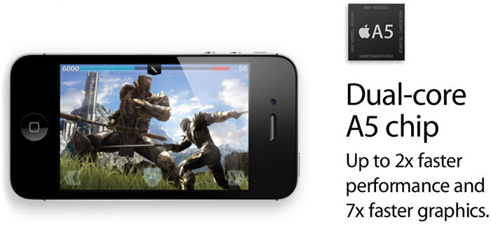 Apple iPhone 4S 16Gb Black.