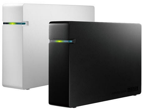 I-O DATA HDCA-U3.0CK and HDCA-U3.0CW HDDs