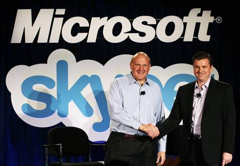 Соглашение Skype с Microsoft