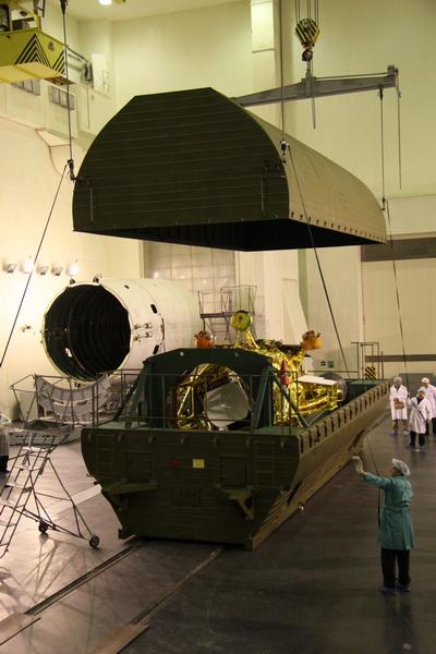 17 октября, зонд был доставлен