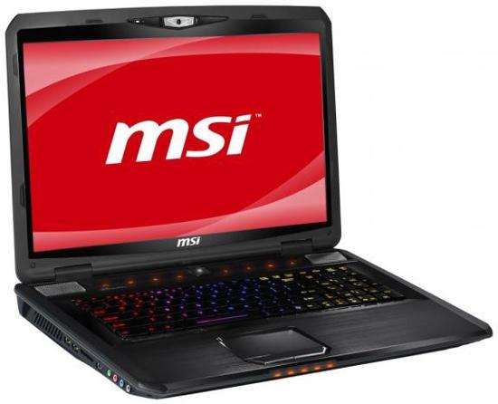 MSI GT780DX – мощный ноутбук для ярых игроманов